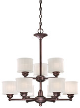 Minka-Lavery 1739-167 - 9 Light Chandelier