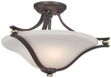 Minka-Lavery 3282-589 - 2 Light Semi Flush Mount