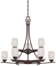 Minka-Lavery 4959-267B - 9 Light Chandelier