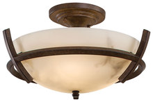 Minka-Lavery 687-14 - 3 Light Semi Flush Mount