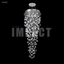 James R Moder 40414S22 - Crystal Rain Entry Chandelier