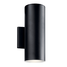 Kichler 11310BKTLED - Outdoor Wall LED