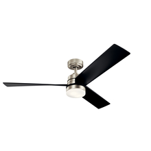 Kichler 300275NI - 52 Inch Spyn Fan LED