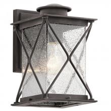 Kichler 49743WZCL18 - Outdoor Wall 1Lt LED