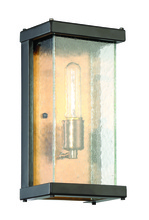 Craftmade Z9902-31 - 1 Light Midnight/Patina Aged Brass Wall Mount