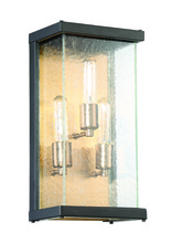 Craftmade Z9912-31 - 3 Light Midnight/Patina Aged Brass Wall Mount