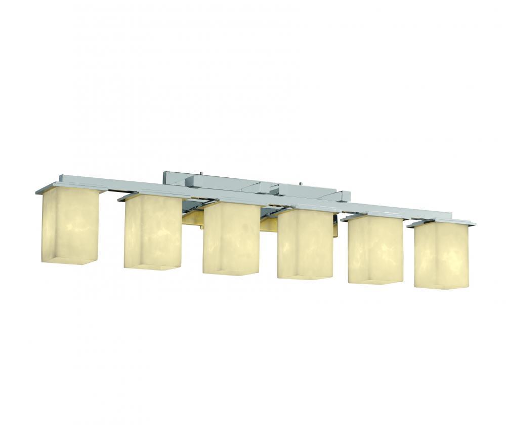 Montana 6-Light Bath Bar : CLD-8686-15-MBLK   Pine Grove Electrical ...