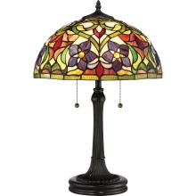 Quoizel TFVT6323VB - Violets Table Lamp