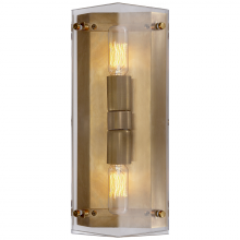 Visual Comfort ARN 2043CG - Clayton Wall Sconce in Crystal