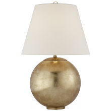 Visual Comfort ARN 3000G-L - Morton Table Lamp in Gild with Linen Shade