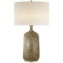 Visual Comfort ARN 3608MS-L - Culloden Table Lamp in Marbleized Sienna with Li