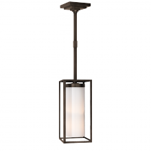 Visual Comfort CHC 5058BZ-WG - Easterly Large Pendant in Bronze with White Glas