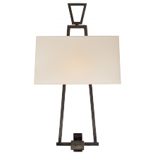 Visual Comfort CHD 2266BZ-NP - Modern Darlana Bouillotte Sconce in Bronze with