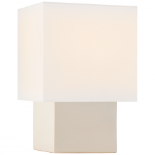 Visual Comfort KW 3676IVO-L - Pari Small Square Table Lamp in Ivory with Linen