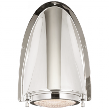 Visual Comfort RL 2181PN - Grant Large Sconce in Polished Nickel with Indus