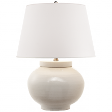 Visual Comfort RL 3625WT-WP - Carter Small Table Lamp in White Porcelain with