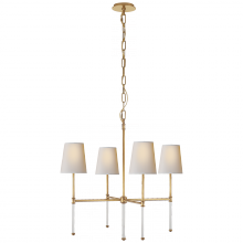 Visual Comfort SK 5050HAB-NP - Camille Small Chandelier in Hand-Rubbed Antique