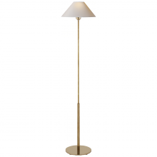 Visual Comfort SP 1022HAB-NP - Hackney Floor Lamp in Hand-Rubbed Antique Brass