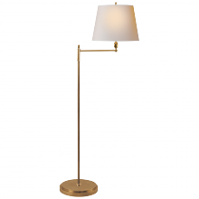 Visual Comfort TOB 1201HAB-NP - Paulo Floor Light in Hand-Rubbed Antique Brass w