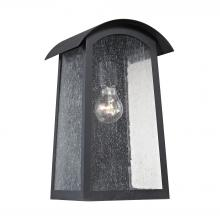 Thomas 8701EW/65 - Prince Street 1-Light Outdoor Wall Sconce in Matte Black