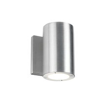 Modern Forms US WS-W9101-AL - VESSEL 6IN - LED OUTDOOR SCONCE 3000K