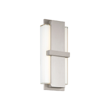 Modern Forms US WS-86615-AL - Virtue 15In Sconce 3000K