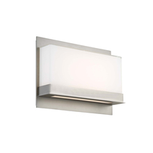 Modern Forms US WS-92616-SN - LUMNOS 15IN UP AND DOWN LGT SCONCE 3000K