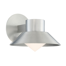 Modern Forms US WS-W18710-AL - OSLO 10IN OUTDOOR SCONCE 3000K