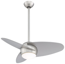 "Minka-Aire F410L-BS - SLANT - LED 36"" CEILING FAN"