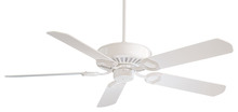 "Minka-Aire F588-SP-WH - ULTRA-MAX™ - 54"" CEILING FAN"