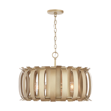 Capital 332741AP - 4 Light Pendant