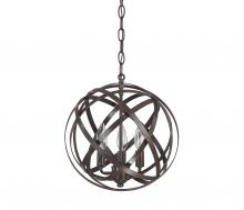 Capital 4233RS - 3 Light Pendant