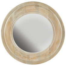 Capital 730205MM - White Washed Wooden Mirror