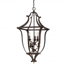 Capital 9182RT - 6 Light Foyer Fixture