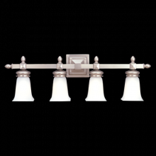 Hudson Valley 2824-PN - 4 LIGHT BATH BRACKET