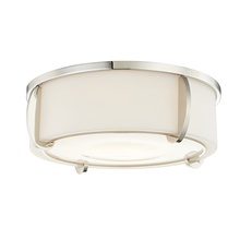 Hudson Valley 4616-PN - 3 LIGHT LARGE FLUSH MOUNT