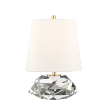 Hudson Valley L1035-AGB - 1 LIGHT SMALL TABLE LAMP