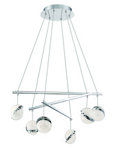 Minka George Kovacs P1446-077-L - 6 Light LED Pendant